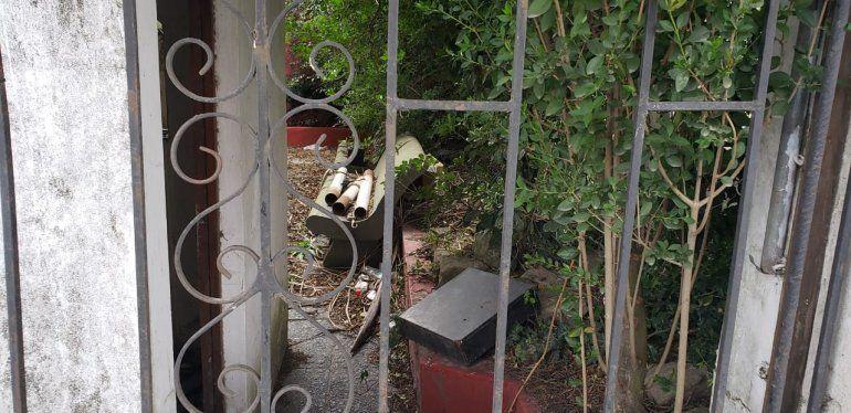 Parte del famoso patio de Sobremonte donde se conectaban las distintas pistas de baile.
