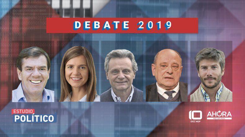 Cuáles serán los ejes del debate de candidatos a intendente de Mar del Plata por Canal 10