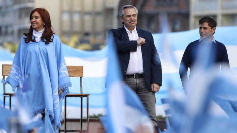 """Alberto Fernández: """"El domingo, boleta completa y adentro"""""""