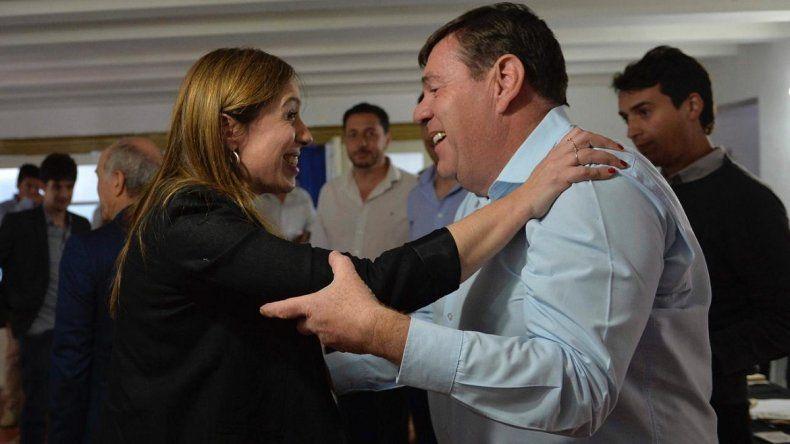 """Montenegro se reunió con Vidal en La Plata: """"Seguiremos trabajando en equipo"""""""
