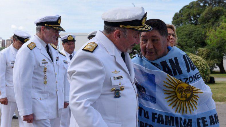 Las 10 fotos del homenaje a los tripulantes del submarino ARA San Juan