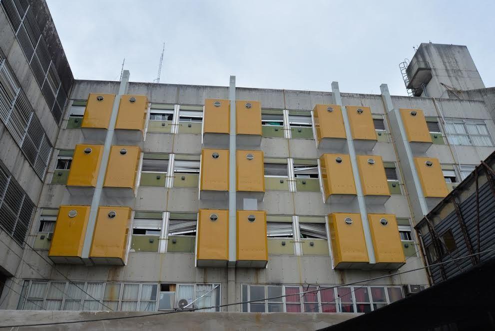 Avanzan las obras para reparar los ba os del hospital san - Banos del hospital ...