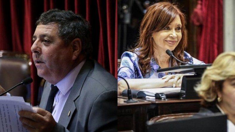 El mensaje de De Angeli por la sesión que trató los allanamientos a CFK