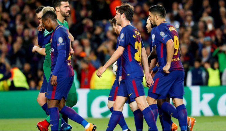 Gran triunfo del Barcelona frente a la Roma