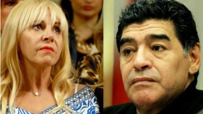 Fuerte contrademanda de Claudia Villafañe contra Maradona ...