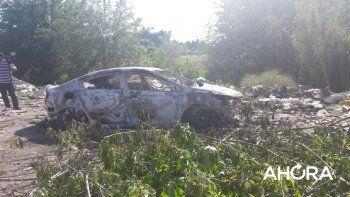 Incendio del auto de Lemos: quien lo robó tenía una llave