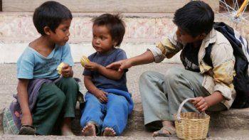 Estiman que 2020 cerrará con un 63% de pobreza infantil