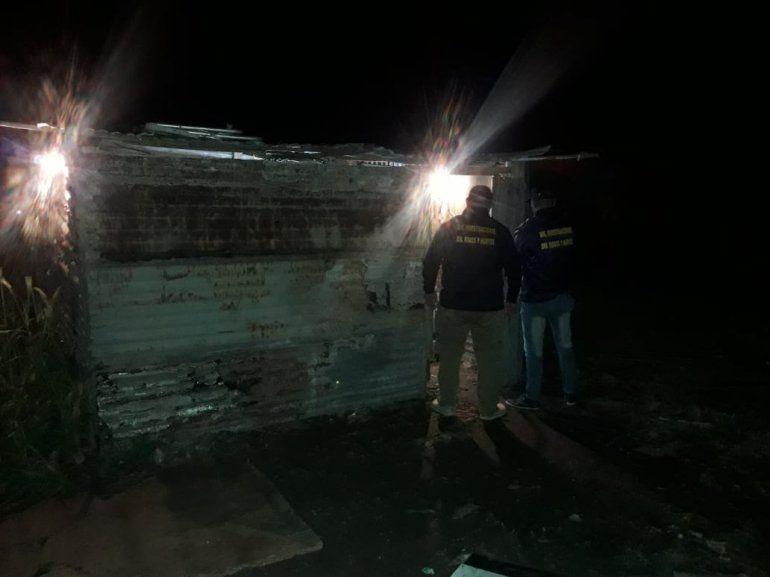 Secuestran drogas y armas tras allanamiento en una vivienda de Paraná