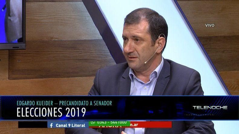 Kueider: Alberto Fernández va a construir una nueva etapa en la Argentina