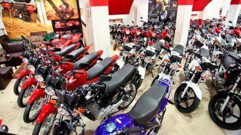 En siete meses, se patentó un 37,5% menos de motos que el año pasado