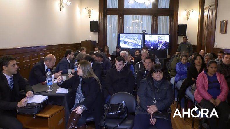 Megacausa narco: evaluarán alternativas ante quejas por la capacidad de la sala