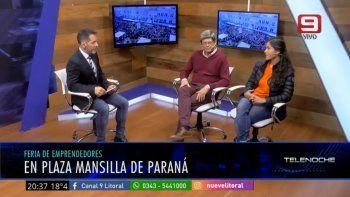 Nueva feria de emprendedores en Paraná: los detalles