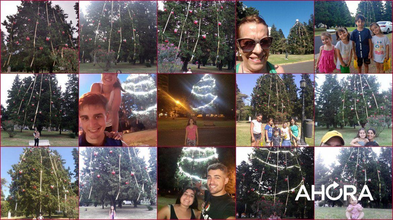 Sacate una foto en el Árbol del Nueve y ganá importantes premios