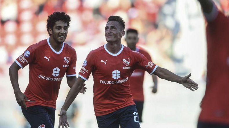 Independiente aplastó por 5 a 0 a Rosario Central
