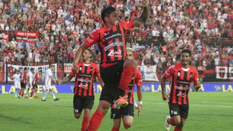 Gimnasia lo gana desde al arranque con gol de Paolo Goltz