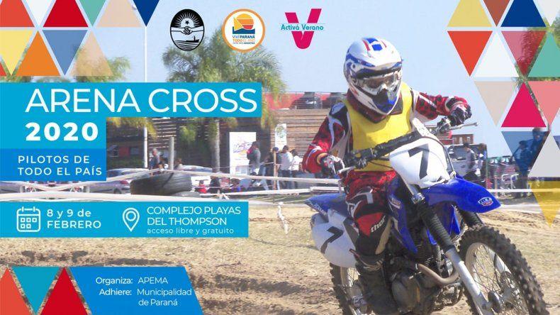 Motos y Cuatriciclos competirán en la arena del Thompson este fin de semana