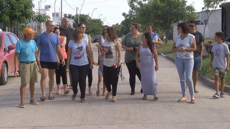 La falta de agua golpea a los vecinos del barrio Los Cedros de Paraná
