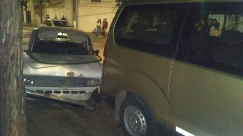 Un hombre alcoholizado al volante provocó un choque múltiple