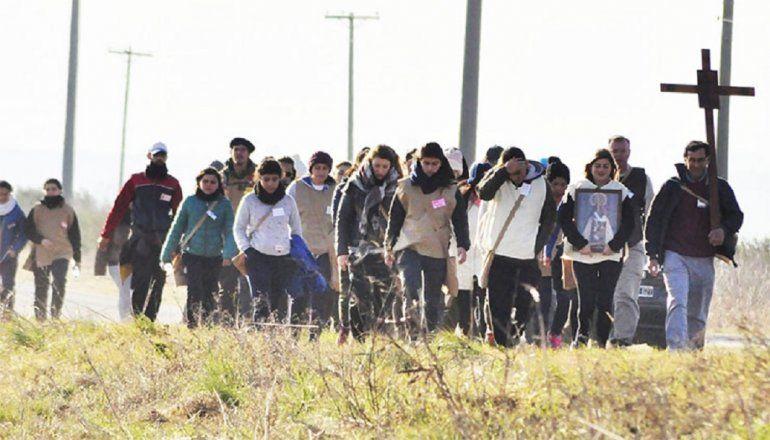 Más de 100 personas realizan una peregrinación virtual desde Paraná a Nogoyá