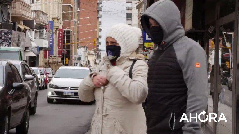 El frío intenso se sintió más este viernes: descendió hasta -3.4°C en Entre Ríos