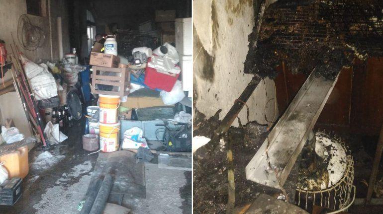 Otro incendio en Paraná por un cortocircuito en una vivienda