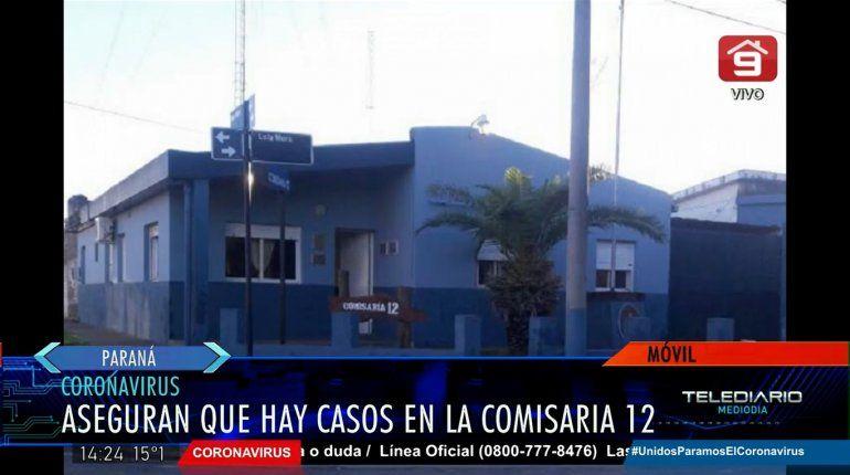 Detectaron tres policías con Covid-19 en una comisaría de Paraná