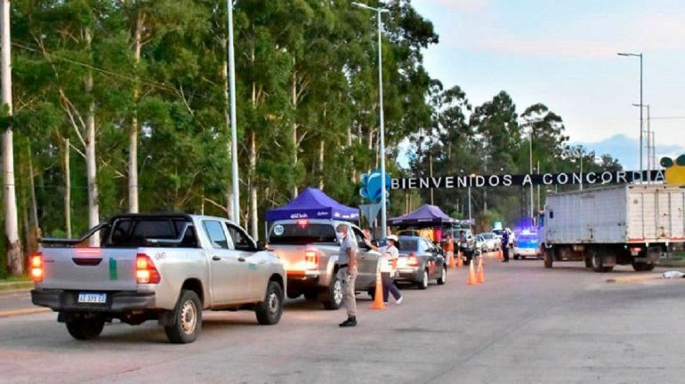 El intendente de Concordia analiza restringir el ingreso de paranaenses