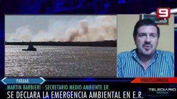 Emergencia ambiental en Entre Ríos: Por momentos