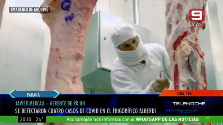 Son 4 los operarios con coronavirus en el Frigorífico Alberdi de Oro Verde