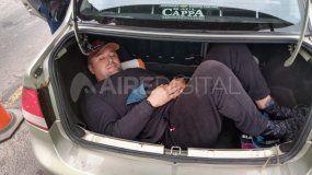 Ucraniano: el dueño del auto quedó detenido por armas y drogas