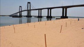 Corrientes habilita el ingreso al agua en playas del río Paraná
