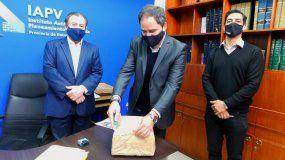 Se presentaron 3 propuestas para construir 16 viviendas sociales en Larroque
