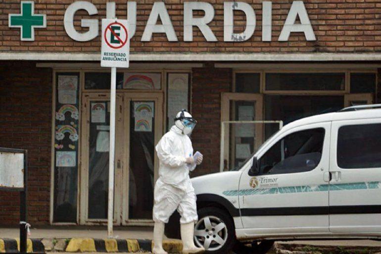Preocupante: el hospital Masvernat ocupó el 100% de las camas de terapia