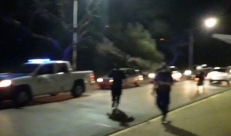 Video: la Policía desalojó el Parque Urquiza a la madrugada