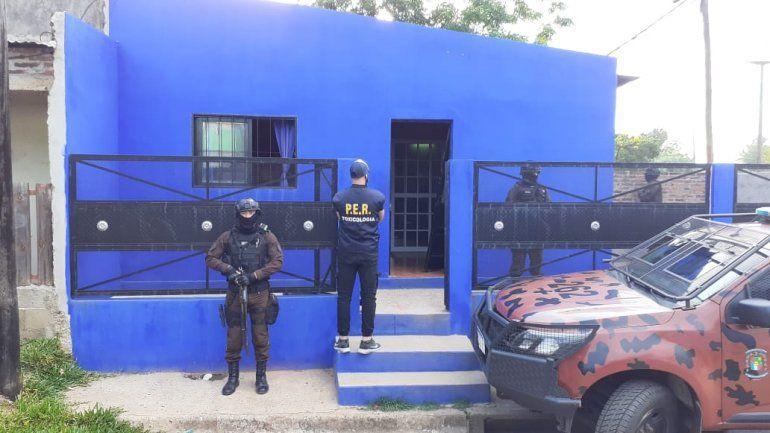 Dos detenidos y 51 identificados en operativos por narcotráfico en Concordia