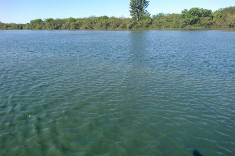 Recomiendan no entrar en contacto con el verdín del río Gualeguaychú