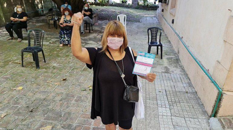 La Argentina superó las 2.000.000 de personas vacunadas con la primera dosis