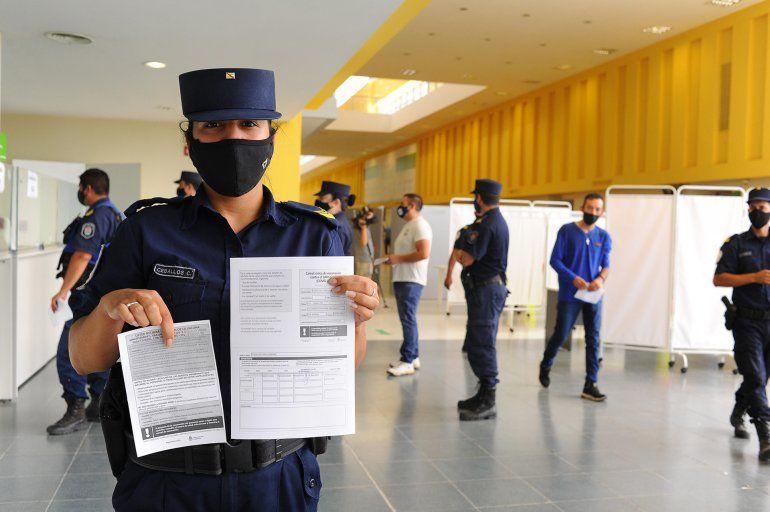 Ya son más de 7 mil los efectivos de Seguridad vacunados en Entre Ríos