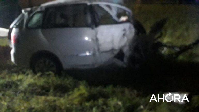 Murió un automovilista en ruta 12 tras chocar violentamente contra una garita