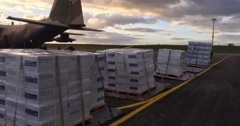Segunda ola: Argentina le envió 70 respiradores a Uruguay