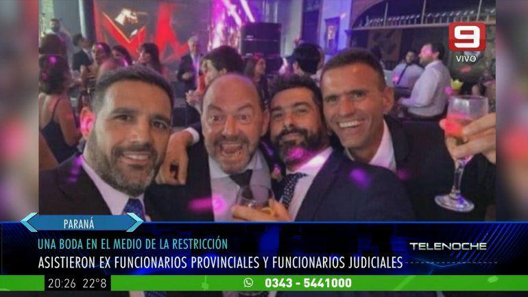 Escándalo por una fiesta con presencia de políticos y funcionarios judiciales de Entre Ríos