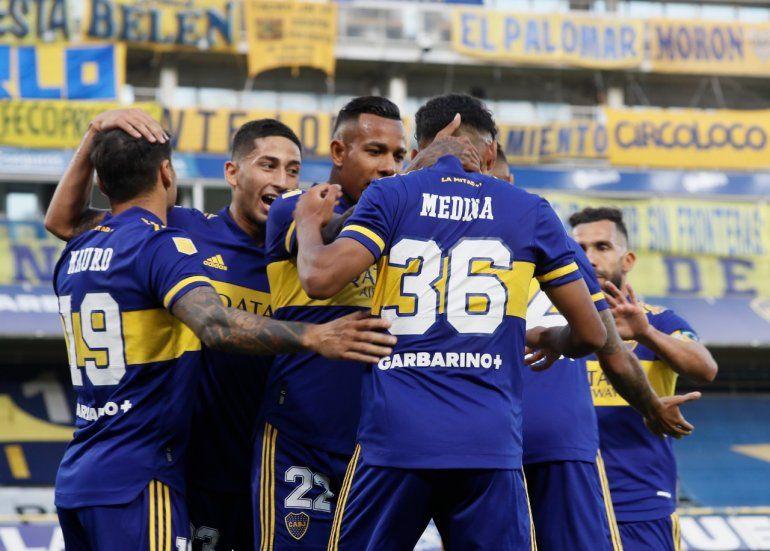 Boca volvió a la victoria: 3 a 1 ante Atlético Tucumán