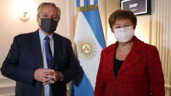 Fernández dijo que fue muy constructiva la reunión con la titular del FMI