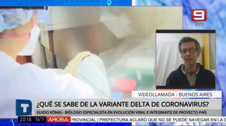 Registraron dos casos de la cepa Delta: Es más contagiosa que la de Reino Unido
