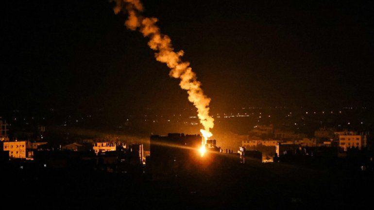 Israel lanzó nuevos ataques aéreos sobre la Franja de Gaza