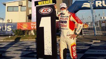 Werner hizo pole y récord en San Nicolás