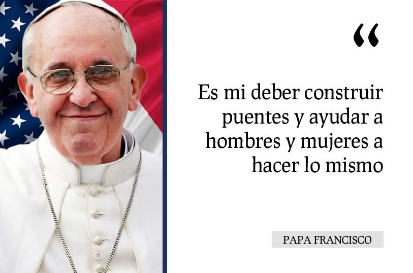 El Papa En El Capitolio Generen Solidaridad Con Sus Actos
